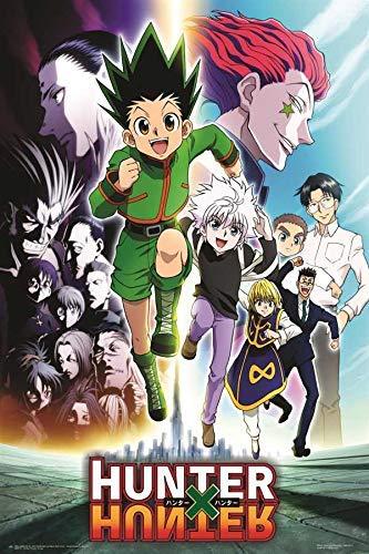 Hunter X Hunter Group Anime Poster Frameless Gift 12 x 18 inch(30cm x 46cm)-LT-165