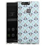DeinDesign Coque en Silicone Compatible avec Huawei P9 Plus Étui Silicone Coque Souple Minnie Mouse...