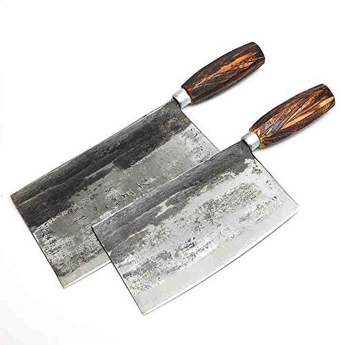 Best Quality Kitchen Knives Family Handmande Knife Shell Steel Chinese Style Chef Knife Kitchen Cut Meat Vegetable Knife Slicing Knives