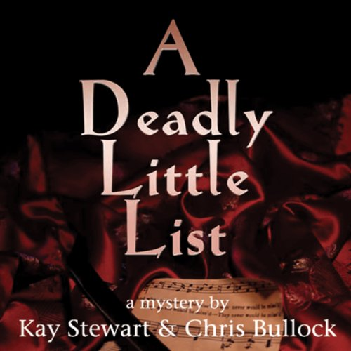 A Deadly Little List audiobook cover art