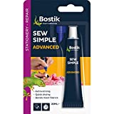 Bostik 806702 Sew Simple Fabric Adhesive 20ml by Bostik