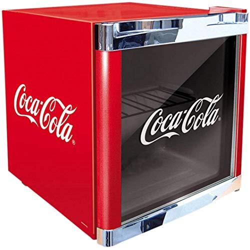 °CUBES Flaschenkühlschrank Coca-Cola/HUS-CC 165/51 cm Höhe / 98 kWh/Jahr / 48 L Kühlteil