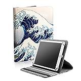 BEISK, Funda Universal para Tablet de 10-10.1 Pulgadas, con Sistema Giratorio de 360º, Rotación, Protección, con Soporte, para Huawei Mediapad/Samsung Galaxy Tab/iPad/Lenovo TAB4 10, Etc. Ola…