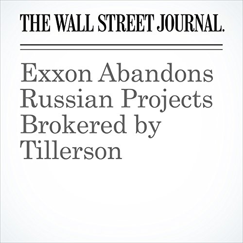 Exxon Abandons Russian Projects Brokered by Tillerson copertina