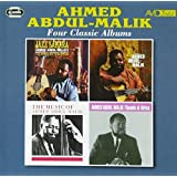 -FOUR CLASSIC ALBUMS- JAZZ SAHARA / EAST MEETS WEST / THE MUSIC OF AHMED ADBUL-MALIK / SOUNDS OF AFRICA