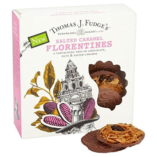 Thomas J Fudges Florentines Caramel Salé De Fudge 8 par Paquet - Paquet de 6
