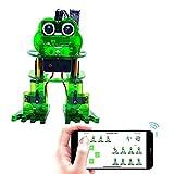 KEYESTUDIO Kit de programación de Robot de Baile de Rana para Arduino Nano, Kit de electrónica de Robot Stem de fácil construcción y codificación DIY para Adolescentes y Adultos