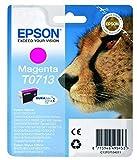Epson - Cartouche jet d'encre - C13T071340 - Magenta Amazon Dash Replenishment est prêt
