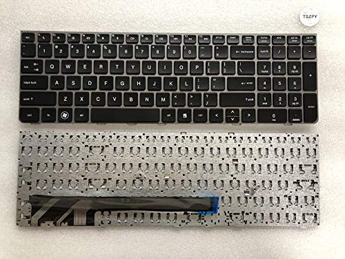 New for HP Probook 4535S 4530S 4730S US Keyboard Silver Frame
