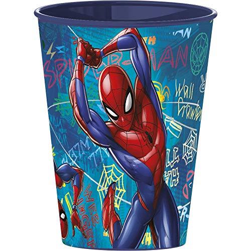 Familienkalender Spiderman Trinkbecher Becher Set für Kinder, kompatibel zu Marvel 250ml | Geschenk | Jungen | Partybecher | Geburtstag | Tasse | Glas | (1 Becher)