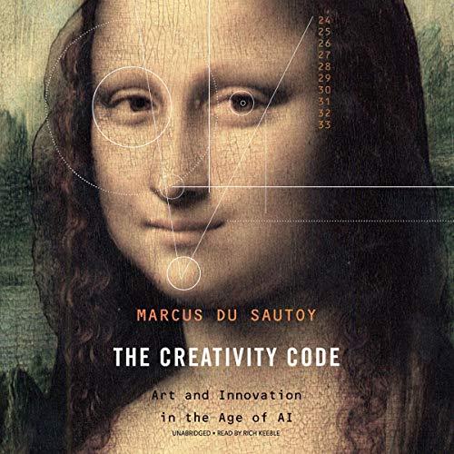 The Creativity Code audiobook cover art