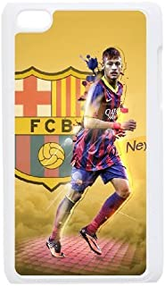 Personalized Durable Cases Ipod Touch 4 White Phone Case Sdjtm Neymar Protection Cover