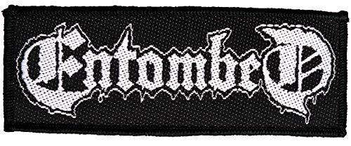 Entombed Logo Aufnäher Patch Gewebt & Lizenziert !!