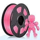 ABSフィラメント、3D Hero ABSフィラメント1.75mm、ABS 3Dプリンターフィラメント、寸法精度+/- 0.02mm、2.2LBS(1KG)、1.75mmフィラメント、ピンク