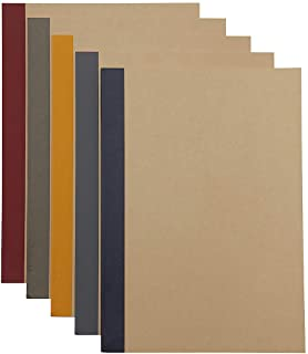 4 X MUJI Notebook B5 6mm Ruled 30 Sheets - 60 Pages, 5-Pack X 4 Set (20 Books)