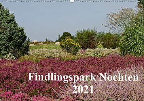Findlingspark Nochten 2021 (Wandkalender 2021 DIN A2 quer)