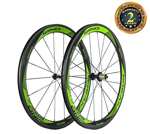 SunRise Bike Carbon Fiber Road Wheelset
