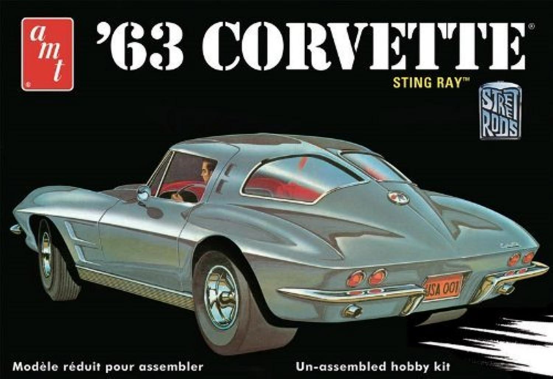 1 25 1963 Chevy Corvette by AMT Ertl