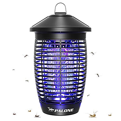 PALONE Lampe Anti Moustique 4500V 20W UV Tueur d'Insectes Électrique Anti Insectes Répulsif Efficace Portée 100m² pour Intérieur et Extérieur