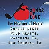 Curtis Likes Wild Kratts, Watching TV, New Iberia, La