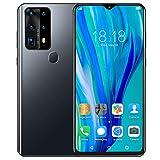 Xiuganpo Smartphone, Pantalla de 6.52 Pulgadas Teléfonos celulares con Doble SIM Desbloqueado Huella Digital Reconocimiento Facial Teléfono móvil Cámara Trasera de 2MP + 2MP(#2)