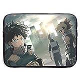My Hero Academia Anime Customs Tablet Bag Sleeve Handbag for 13 Inch 15 Inch Tablet, Notebook Computer Fashion Message Bag Laptop Shoulder Bag