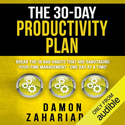 The 30-Day Productivity Plan audiobook cover art