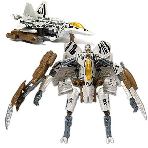 Transformers Model, Deformation Toy King Kong 5 Model Car Robot Alloy Version ( Color : Starscream )
