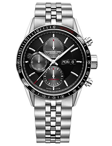 Raymond Weil 7731-ST-20621 - Cronografo automatico da uomo, 42 mm,...