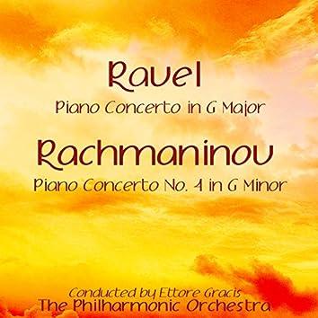 Ravel: Piano Concerto in G & Rachmaninov: Piano Concerto No. 4