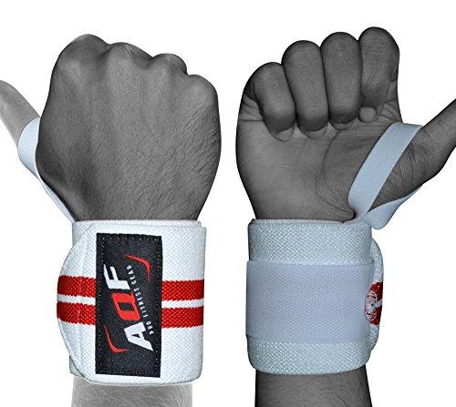 AQF Handgelenk Bandagen Für Fitness, Handgelenkstütze Bandagen Für Krafttraining, Bodybuilding Handgelenkbandage, Gym Wrist Wrap Für Crossfit, Sports & Powerlifting