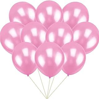 GuassLee 100 ct Pink Balloon 10