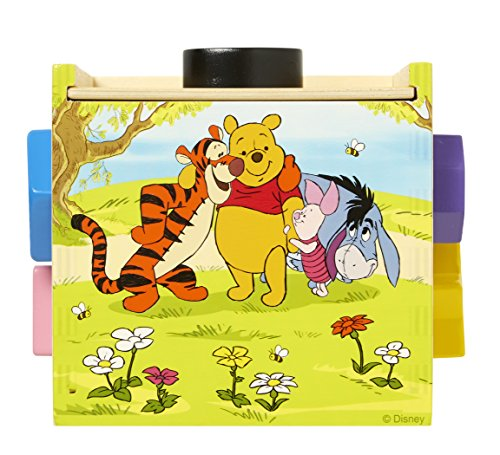 Melissa & Doug Disney Baby Winnie the Pooh Shape Sorting Cube