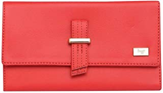 Baggit Womens Snap Closure 2 Fold Wallet (Pink_Free Size)