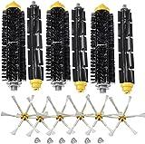 Piezas de repuesto para cortacésped Reemplace la bridaje y el cepillo flexible del cepillo del cepillo armado-6 con tornillo para la serie 700 770 780 790 Accesorio de aspiradora Accesorios para corta