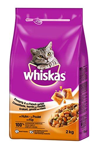 Whiskas Adult Katzenfutter Huhn, 6 Packungen (6 x 2 kg)