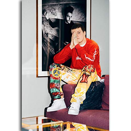 Poster and Printing Yongshou Rapper Music Star Art Canvas Home Decoration 70x110cm Frameless