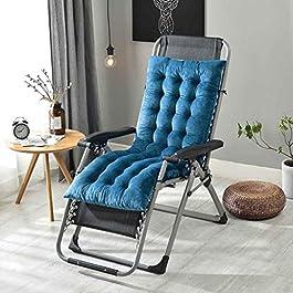 Coussin de chaise de décoration de bureau à domici 160x50x10cm hiver Coussin Chaise en rotin Fauteuil Rocking Chair…