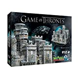 Wrebbit 3D Game of Thrones Winterfell 3D Jigsaw Puzzle (910 Piece) (GOTWF)