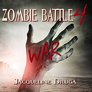 Zombie Battle 4: War audiobook cover art