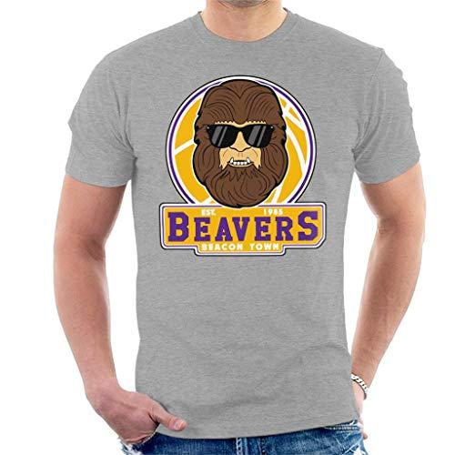 Teen Wolf Beavers 1985 Grey T-shirt for Men