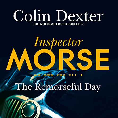 The Remorseful Day audiobook cover art