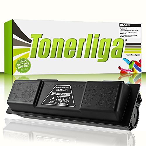 Tonerliga Toner ersetzt TK-170 für Kyocera Ecosys P2135DN FS-1320DN FS-1370DN 7.200 Seiten Ideal für Ihre gestochen scharfen Ausdrucke