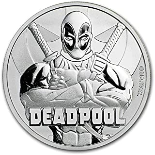 tuvalu marvel coin series