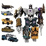 Transfórmers tóys, 5in1 Combiners Transformation Action Figure Toy Brawl Swindle Blast Off Model Deformation Car Robot for Boy Gift (Color : 5in1 Bruticus)