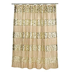 Champagne Shower Curtain - Sinatra Collection