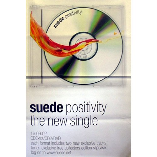 Suede - Poster Gigante Positivity