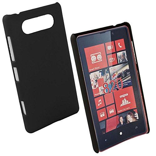 Fontastic ltno820lubc01Hard Cover Pure para Nokia Lumia 820, Color Negro