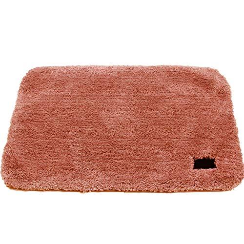 HMWP Badmat, antislip, milieuvriendelijk materiaal, antislip, schimmelbestendig, machinewasbaar, voor badkamer DeepPink-50 * 80CM
