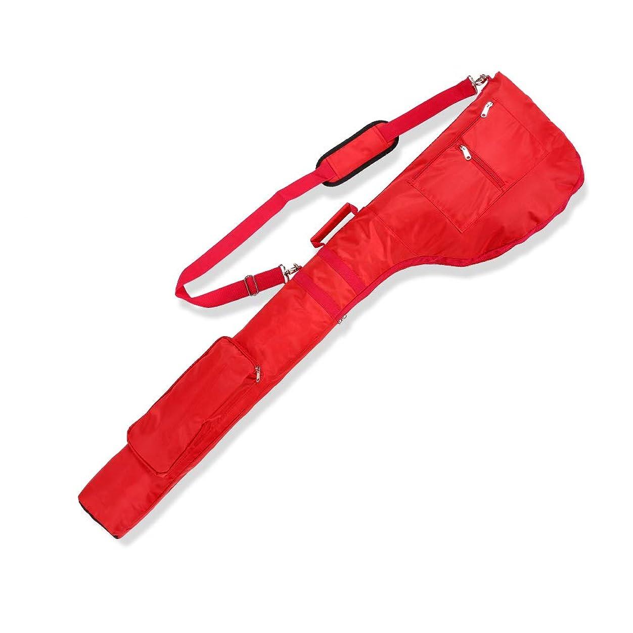 急ぐ襟航海LONGCHAO ゴルフ クラブケース 最大7本以上 大容量 軽量 折りたたみ ゴルフバッグ ファスナーポケット付き バッグ ソフト
